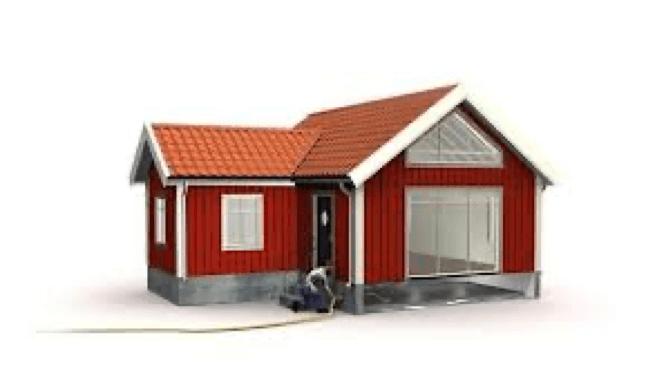 Fyll ut alla typer av hålrum med betong
